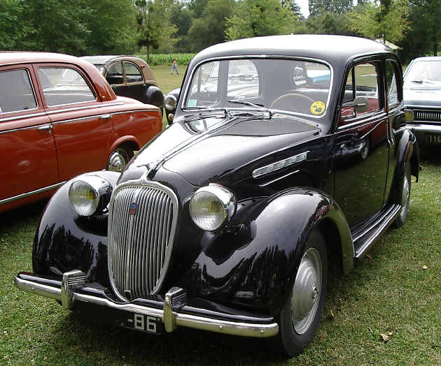 SIMCA 8 1100. Soeur de Fiat 508 C - Babillard et commentaires sur l'histoire de l'automobile